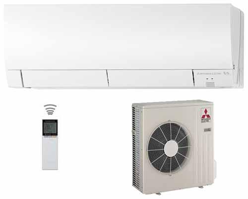 klimatizace mitsubishi deluxe hyper heating msz fh25ve 2 5kw. Black Bedroom Furniture Sets. Home Design Ideas