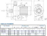 Odstředivé čerpadlo Ebara DWO 300 2,2 kW
