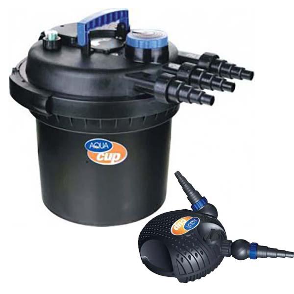 Filtrace Aquacup IRIS CPF 180/CARETA 4500 - jezírková