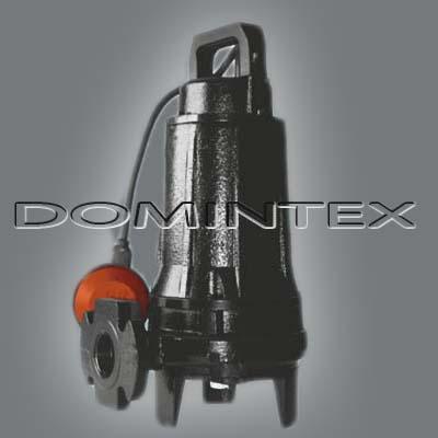Kalové čerpadlo s řezacím zařízením Dreno GRIX 100 M / G 230V / 0,9 kW s plovákem