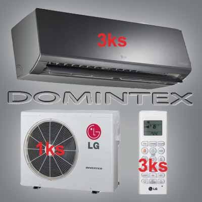 Klimatizace LG ArtCool 10,5kW 3xMS12AW
