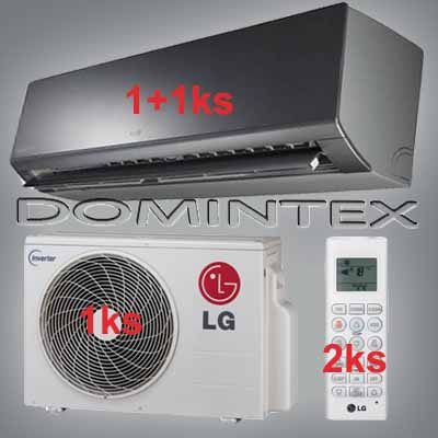 Klimatizace LG ArtCool 5,5kW 1xMS07AQ/1xMS12AW