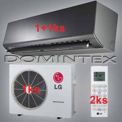 Klimatizace LG ArtCool 6,1kW 1xMS09AQ/1xMS12AW
