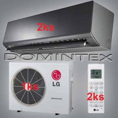 Klimatizace LG ArtCool 7kW 2xMS12AW