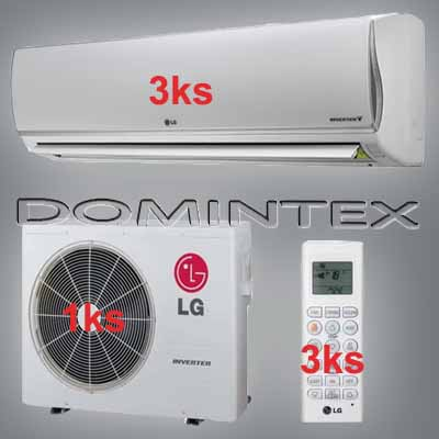 Klimatizace LG DeLuxe 10,5kW 3xMS12AQ