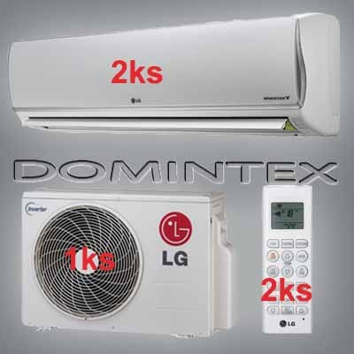 Klimatizace LG DeLuxe 4kW 2xMS07AQ