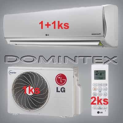 Klimatizace LG DeLuxe 5,5kW 1xMS07AQ/1xMS12AQ