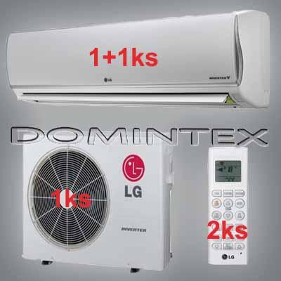 Klimatizace LG DeLuxe 6,1kW 1xMS09AQ/1xMS12AQ