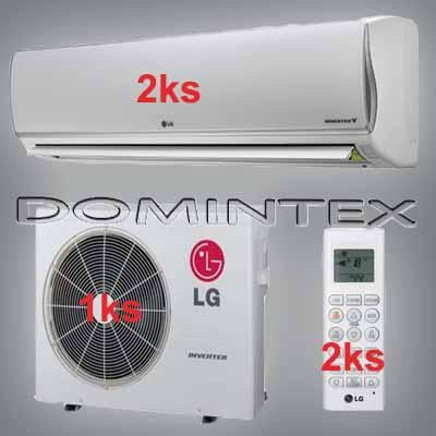 Klimatizace LG DeLuxe 7kW 2xMS12AQ