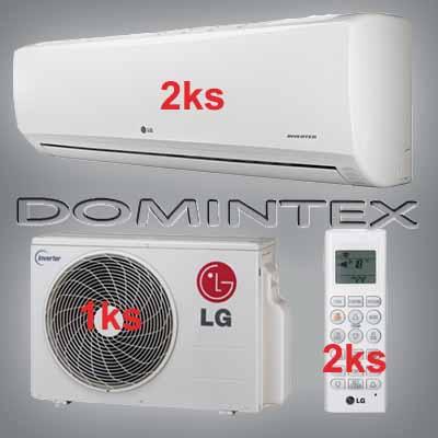 Klimatizace LG Standard 3kW 2xMS05SQ