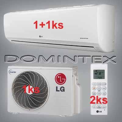 Klimatizace LG Standard 4,1kW 1xMS05SQ/1xMS09SQ