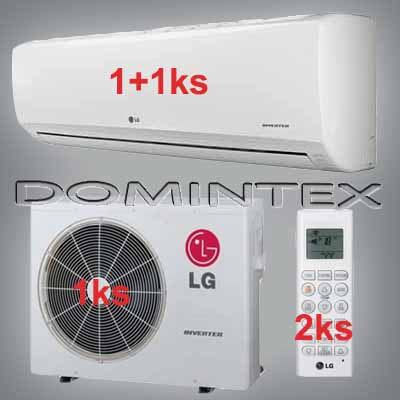 Klimatizace LG Standard 8,8kW 1xMS12SQ/1xMS18SQ