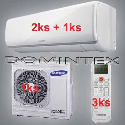 Klimatizace Samsung 10kW Boracay+ 2x2.5kW/1x5.0kW