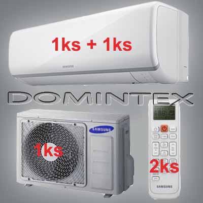 Klimatizace Samsung 7,5kW Boracay+ 1x2.5kW/1x5.0kW
