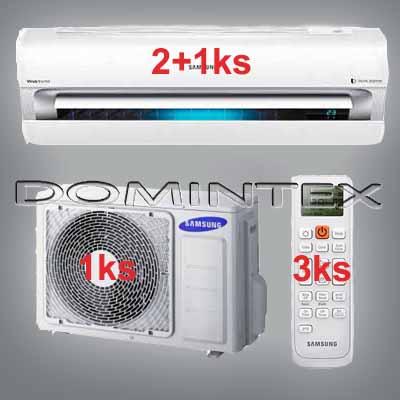 Klimatizace Samsung Best 8,5kW AR9000 2x2.5kW/1x3.5kW