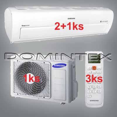 Klimatizace Samsung Better 6,5kW AR7000 2x2.0kW/1x2.5kW