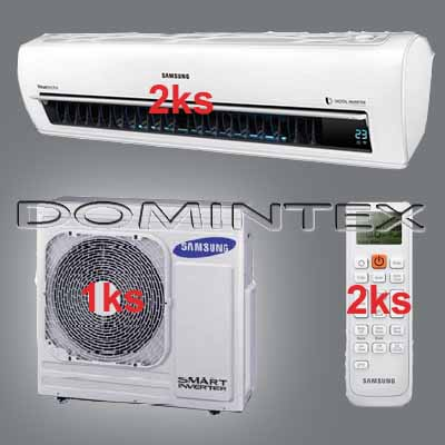 Klimatizace Samsung Better 10/12kW-2xAR18KSPDBWKNEU