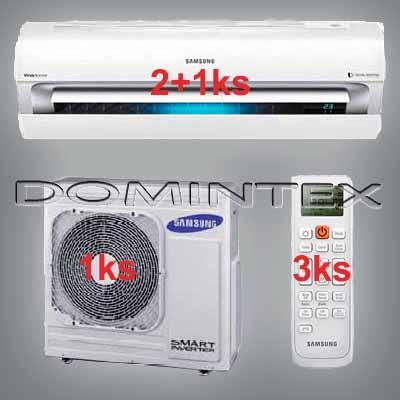 Klimatizace Samsung Better 10kW AR7000 2x2.5kW/1x5.0kW