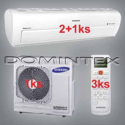 Klimatizace Samsung Better 11.5kW AR7000 2x2.5kW/1x6.8kW