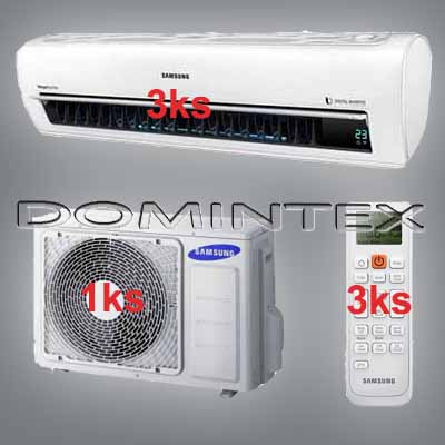 Klimatizace Samsung Better 7.5/9.6kW-3xAR09KSPDBWKNEU