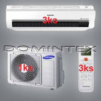 Klimatizace Samsung Good1 6/6.6kW-3xAR07KSWSAWKNEU