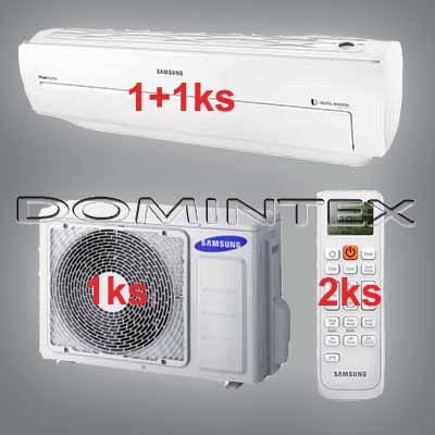 Klimatizace Samsung Good1 7.5kW AR5000 1x2.5kW/1x5.0kW
