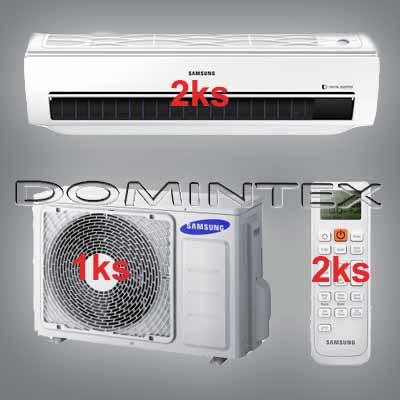 Klimatizace Samsung Good1 7/7,6kW-2xAR12KSWSBWKNET