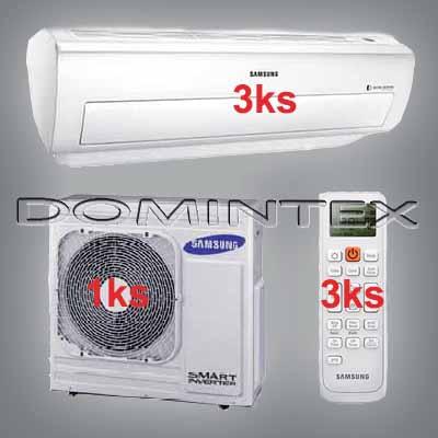 Klimatizace Samsung Good2 10.5/12kW-3xAR12KSWNAWKNET