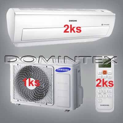 Klimatizace Samsung Good2 5/6.6kW-2xAR09KSWNAWKNET