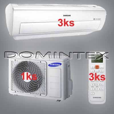 Klimatizace Samsung Good2 6/6.6kW-3xAR07KSWNAWKNEU