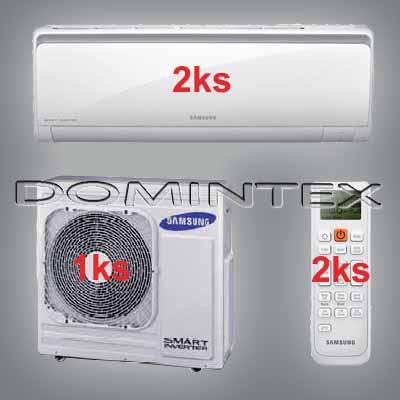 Klimatizace Samsung Boracay+ 10/12kW-2xAR18KSFHBWKNEU