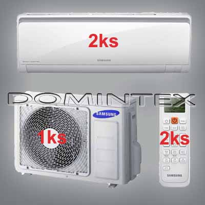 Klimatizace Samsung Boracay+ 4/4.4kW-2xAR07KSFHBWKNEU
