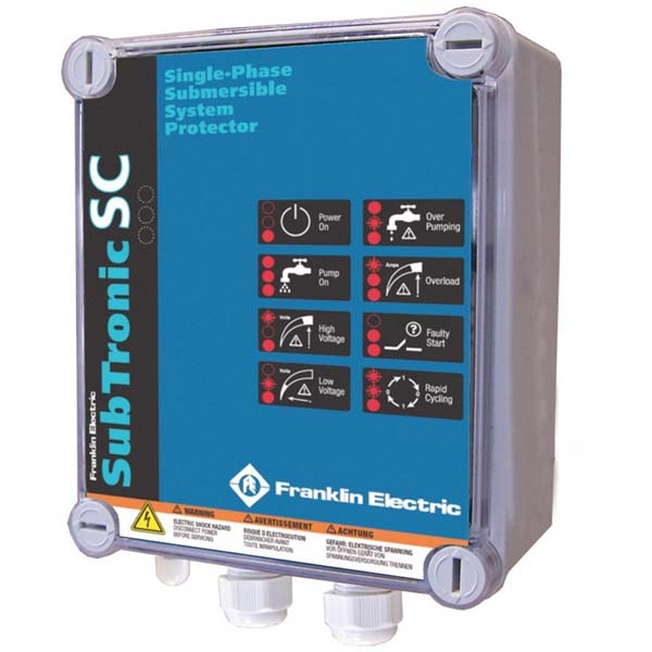 Ochrana čerpadla Franklin Subtronic 0.37kW 230V