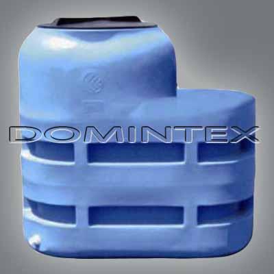 Plastová nádrž na vodu 1000l Cordivari - oválná
