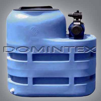 Plastová nádrž na vodu 500l Aquatrading Power 500 ALFAJET s čerpadlem