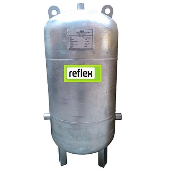 Pozinkovaná tlaková nádoba Reflex 100L 1MPa AQUAMAT vertikální