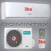 Klimatizace Hisense Comfort 7,8kW 3xAST-09UW4SVEDJ10