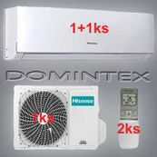 Klimatizace Hisense Comfort 8,5kW 1xAST-12UW/1xAST-18UW