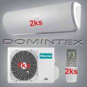 Klimatizace Hisense Silentium 5,2kW 2xAST-09UW4RXXQA-in