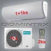 Klimatizace Hisense Silentium 6,1kW 1xAST-09UW/1xAST-12UW
