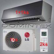 Klimatizace LG ArtCool 4,6kW 1xAM07BP/1xAM09BP