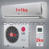 Klimatizace LG DeLuxe 6,1kW 1xDM09RP/1xDM12RP