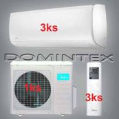 Klimatizace Midea Mission 10,5kW 3xMSMBBU-12HRFN1