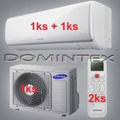 Klimatizace Samsung 4,5kW Boracay+ 1x2.0kW/1x2.5kW