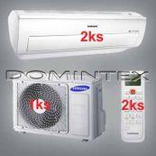 Klimatizace Samsung Good2 7/7,6kW-2xAR12KSWNAWKNET