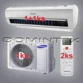 Klimatizace Samsung Good2 4.5kW AR5000 1x2.0kW/1x2.5kW