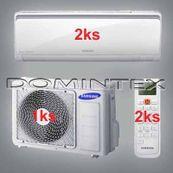 Klimatizace Samsung Boracay+  5/6.4kW-2xAR09KSFHBWKNET