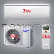 Klimatizace Samsung Boracay+ 6/6.6kW-3xAR07KSFHBWKNEU