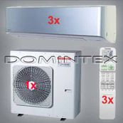 Klimatizace Toshiba Super Daiseikai 6.5 7.5kW RAS-B10N3KVP-E-3x