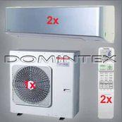 Klimatizace Toshiba Super Daiseikai 6.5 9kW RAS-B16N3KVP-E-2x